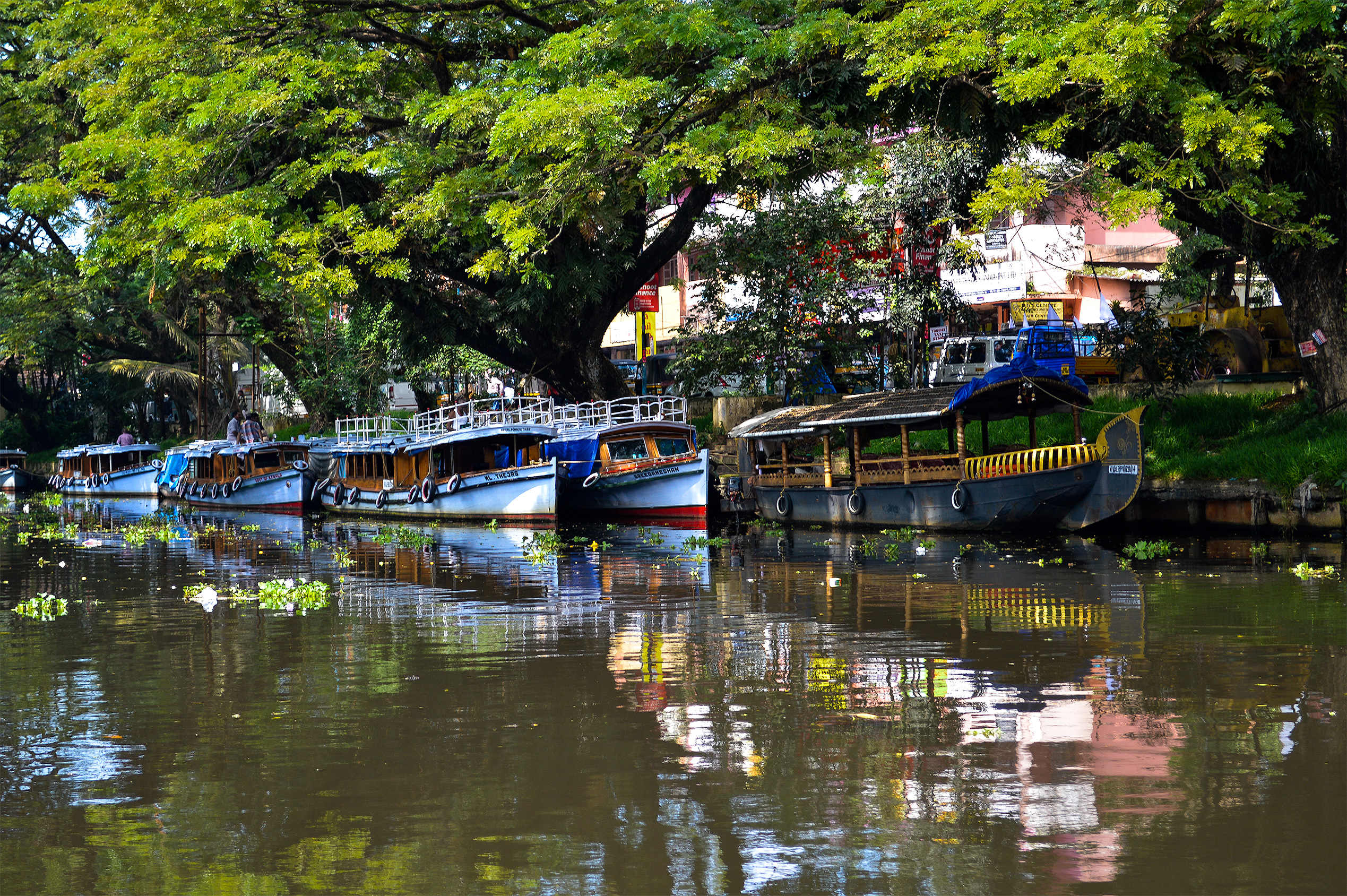 India - Alleppey-in-Indien
